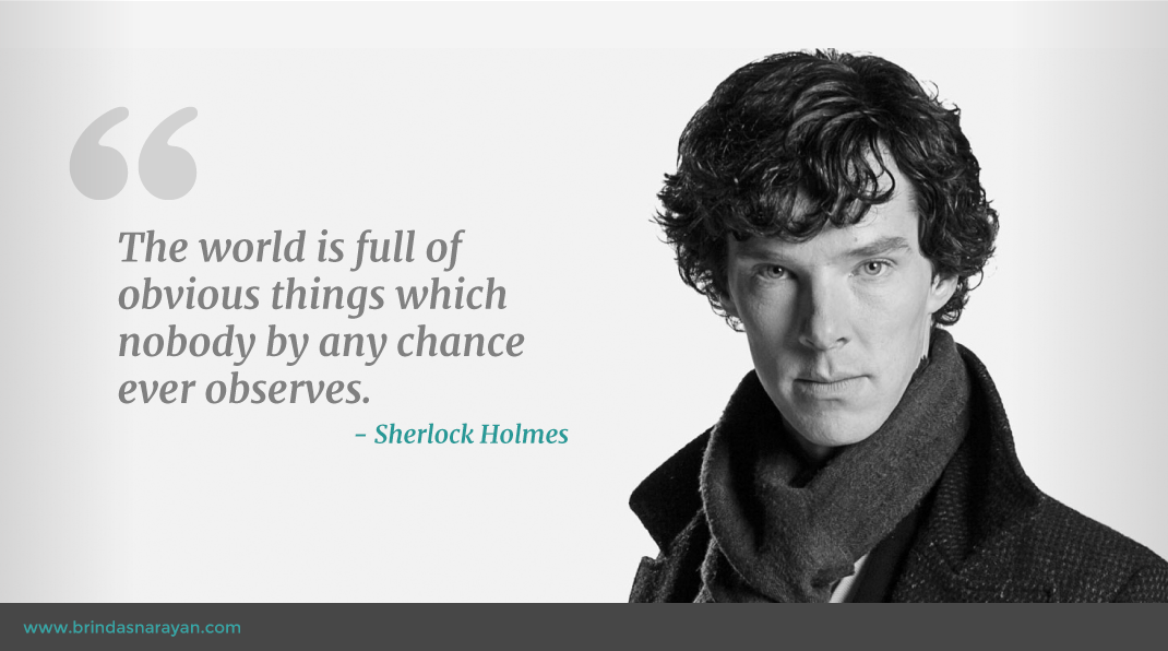 Habits of Highly Creative People: What You Can Learn From Sherlock Holmes