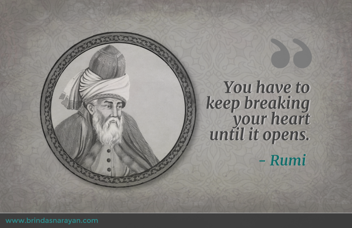 Creating from the Heart: 13th Century Sufi Poet, Rumi