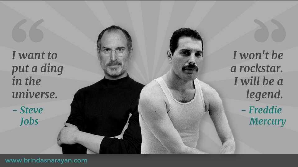 Striking Parallels Between Steve Jobs and Freddie Mercury