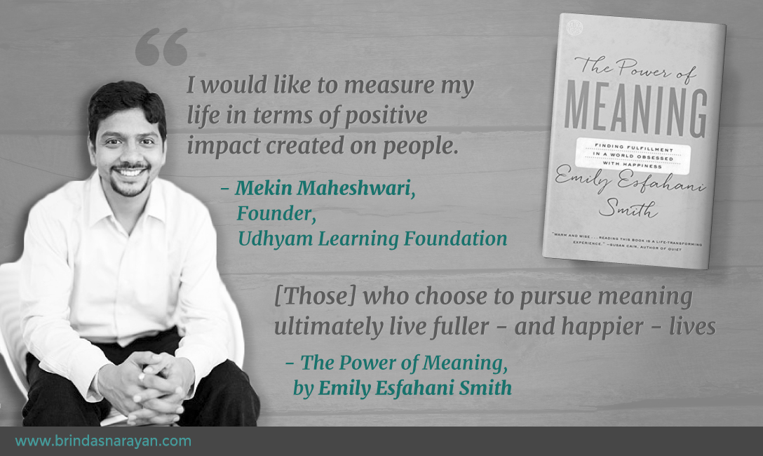 From Chief People Officer at Flipkart to the Founder of a Social Enterprise: When the Pursuit of Meaning Sparks Midlife Change