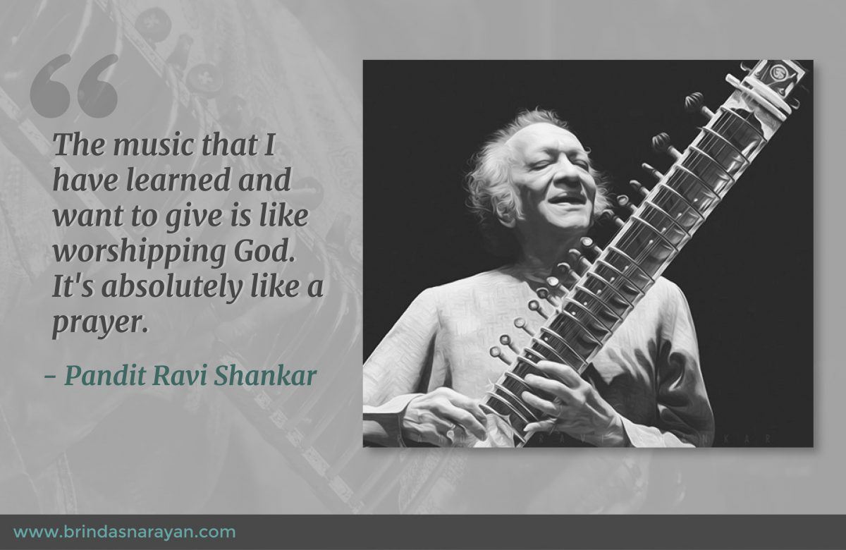 The Making of a Genius: A Profile of the Sitar Maestro, Pandit Ravi Shankar