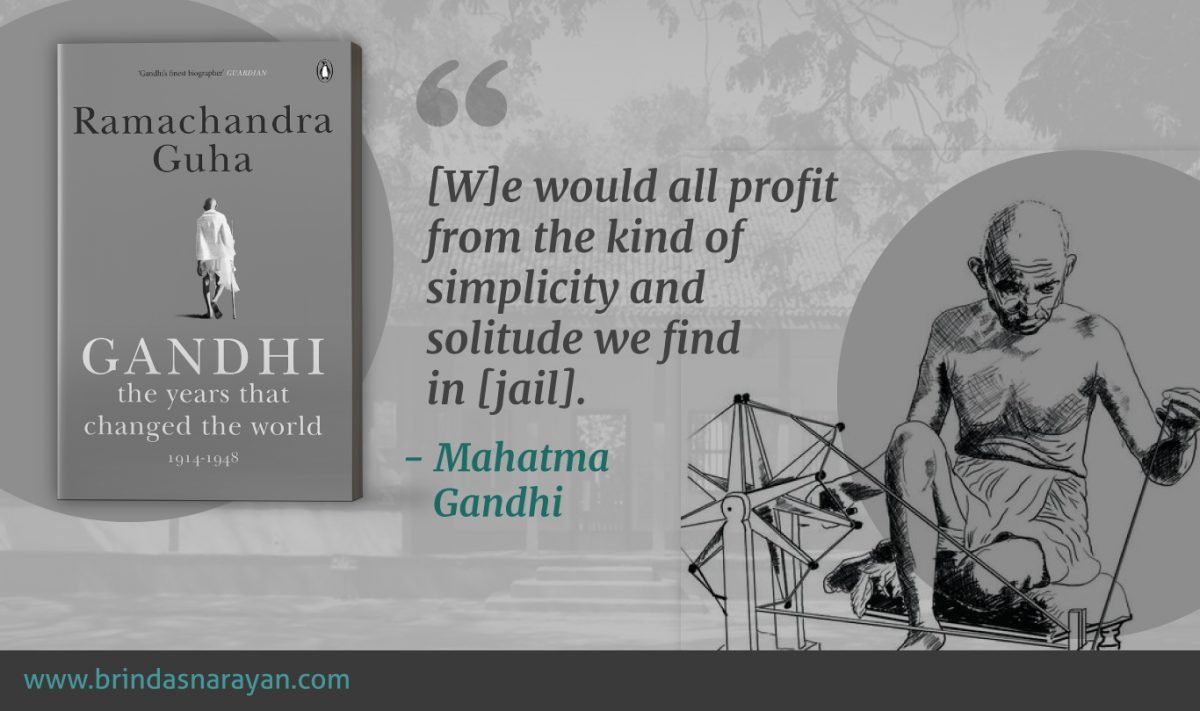 Lessons in Leadership From Gandhi's Life Inside Prisons