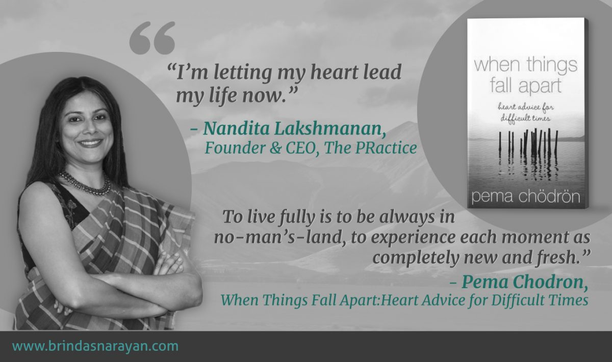 Using a Crisis to Deepen Oneself : Nandita Lakshmanan, Founder & CEO of The PRactice, Excavates Meaning From Setbacks