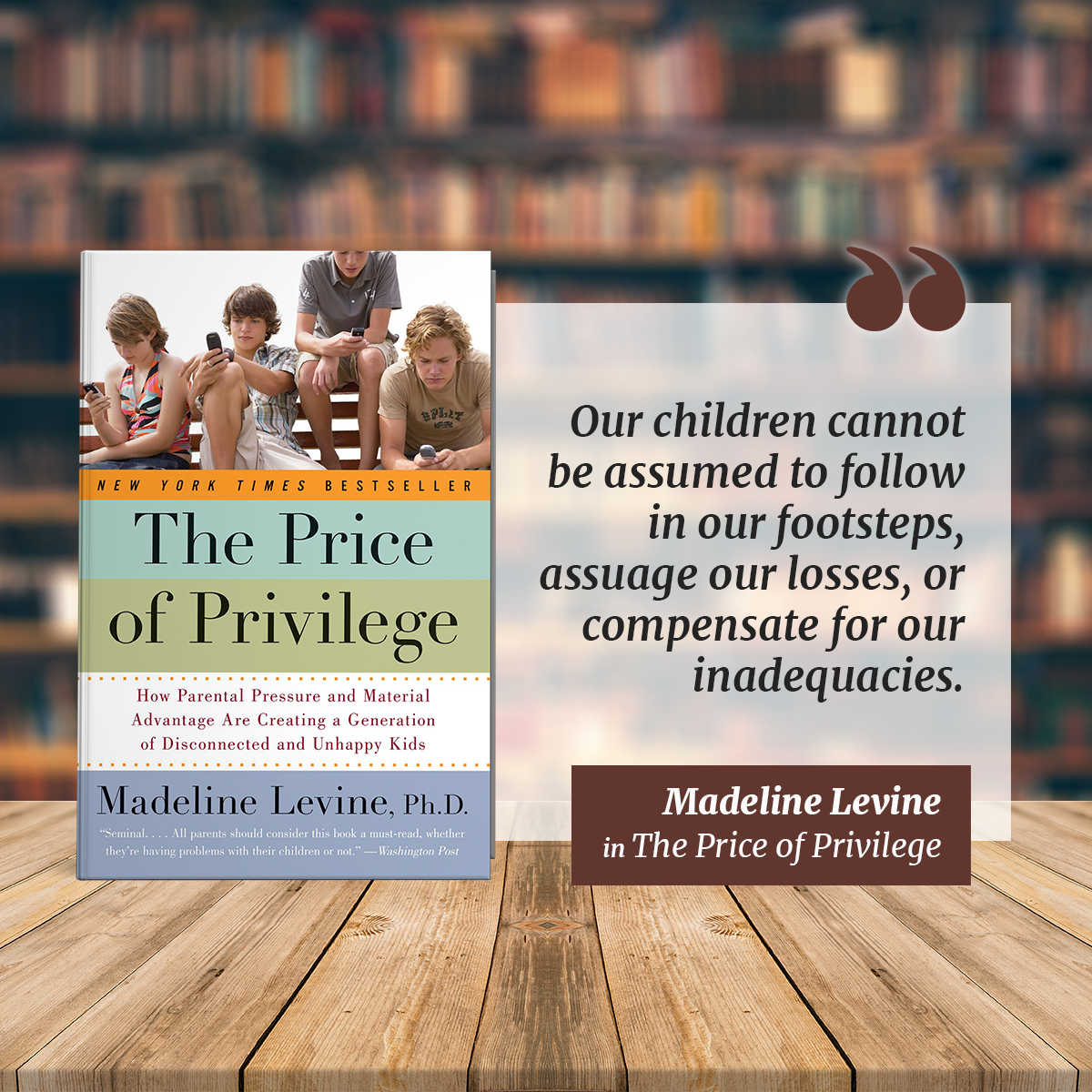 Lessons from Books: How Parental Privilege Can Adversely Impact Children