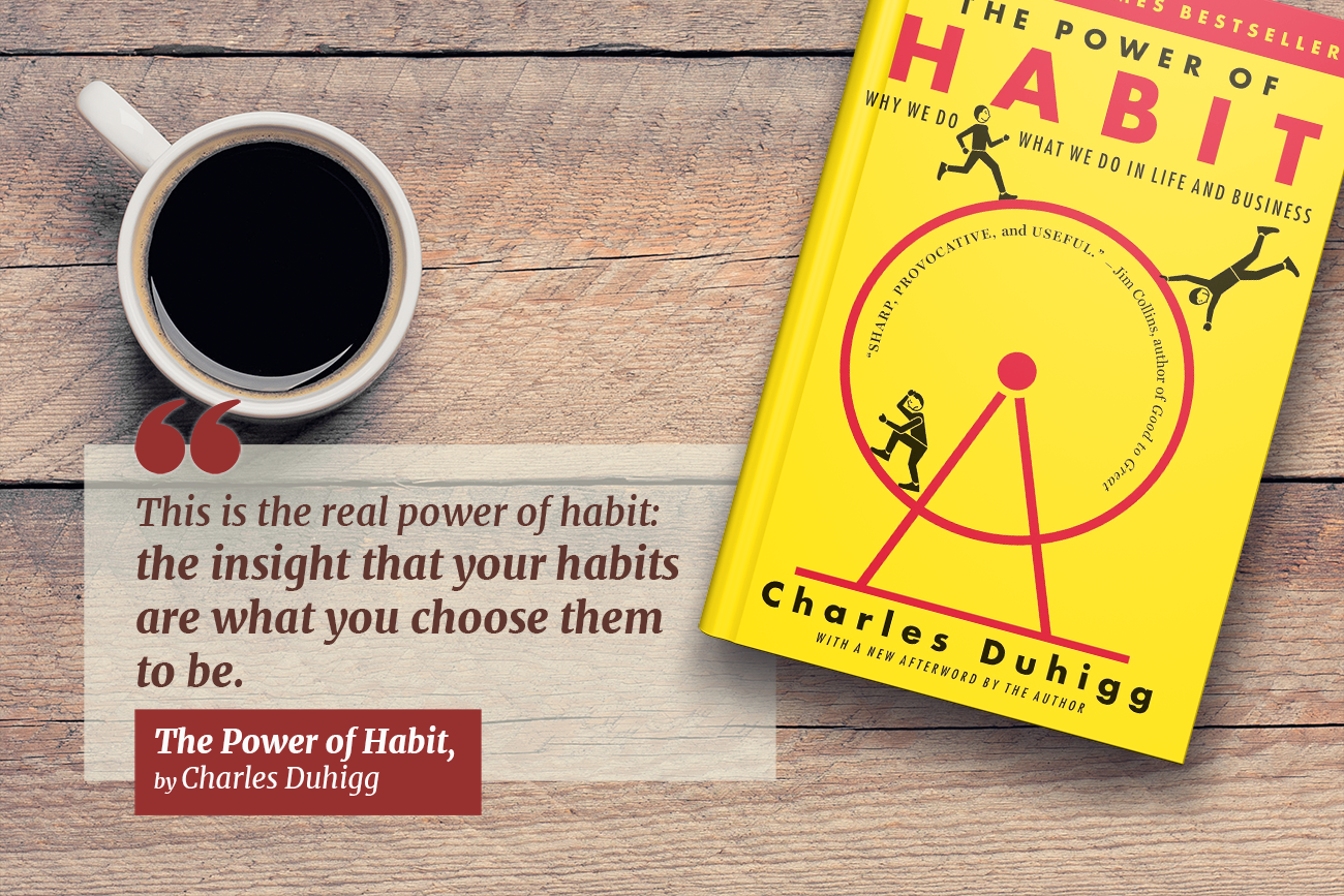 Lessons from Books: Leveraging the Science of Habits to Drive Personal Changes