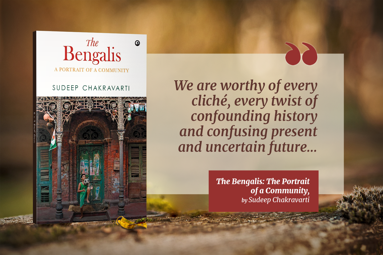 Lessons from Books: A Fascinating Dive into the Makeup of The Bengalis