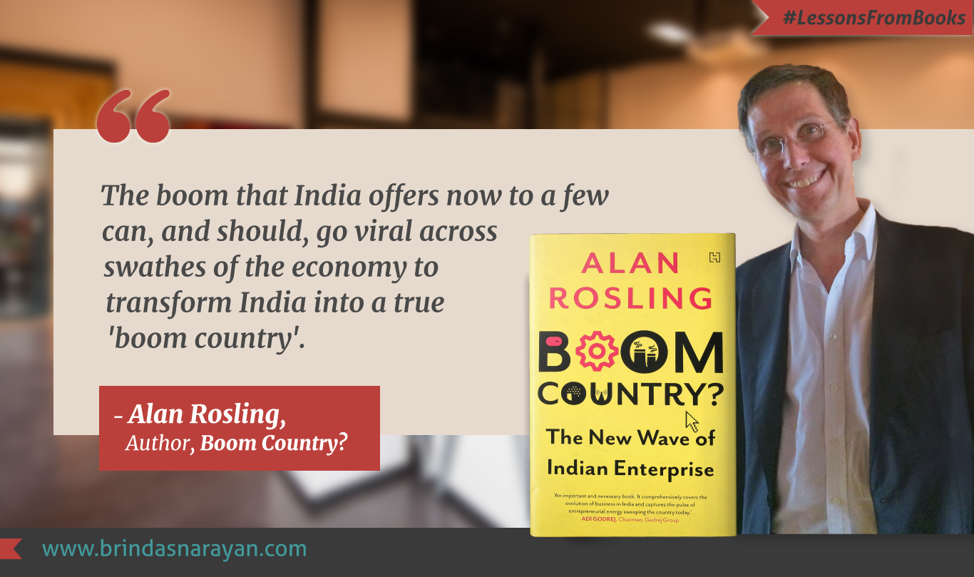 Lessons from Books: Boom Country? Charts The Stories Powering Indian Startups