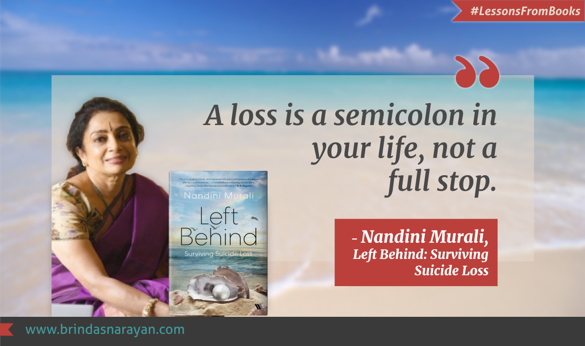 Lessons from Books: An Inspiring Memoir and Guide to Surviving Suicide Loss