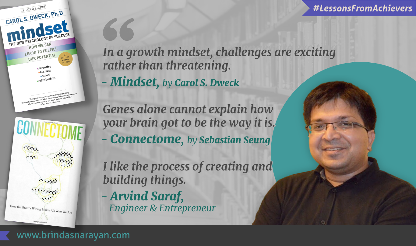 Arvind Saraf Leverages a Growth Mindset to Embark on Creative Voyages