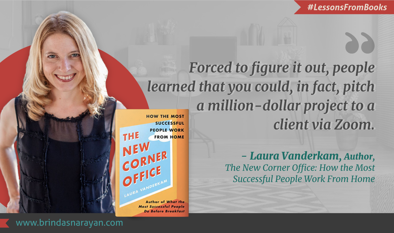 Laura Vanderkam, Author and Productivity Expert, Offers Strategies To Optimize Working-From-Home
