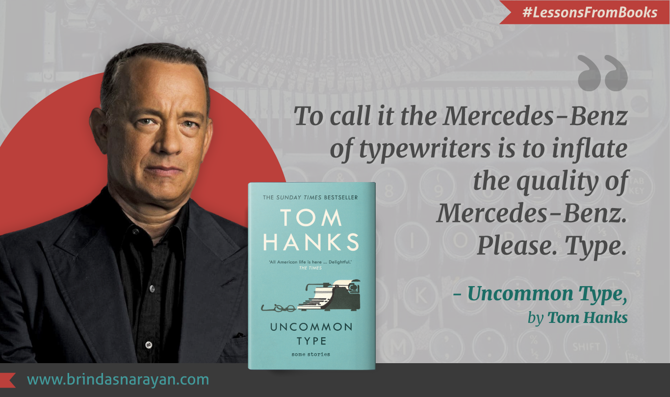 Tom Hanks Evokes the Extraordinariness of American Every Days in Uncommon Type